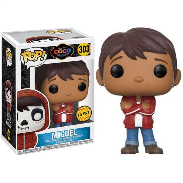 Figura POP Disney Pixar Coco Miguel Chase