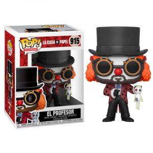 Funko Pop! Profesor (Con cara de payaso) [La Casa de Papel]