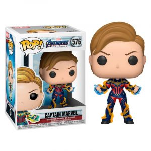 Funko Pop! Capitana Marvel (Con nuevo pelo) (Avengers: Endgame)