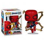 Figura POP Marvel Vengadores Endgame Iron Spider with Nano Gauntlet