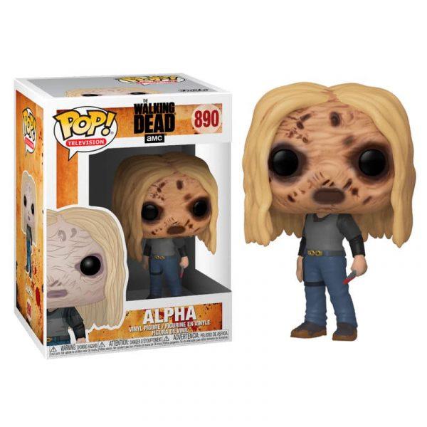 Figura POP Walking Dead Alpha with Mask