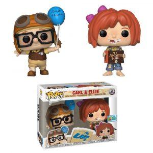 Pack 2 Funko Pop! Carl & Ellie [Up] Exclusivo SDCC 2019