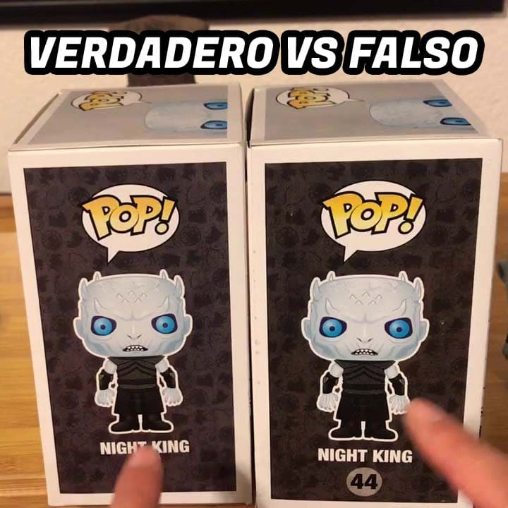 Funko Pop Falso