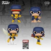 Pack 4 Funko Pop! X-Men [Marvel 80th]