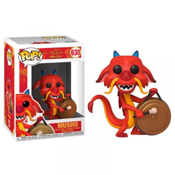 Figura POP Disney Mulan Mushu with Gong