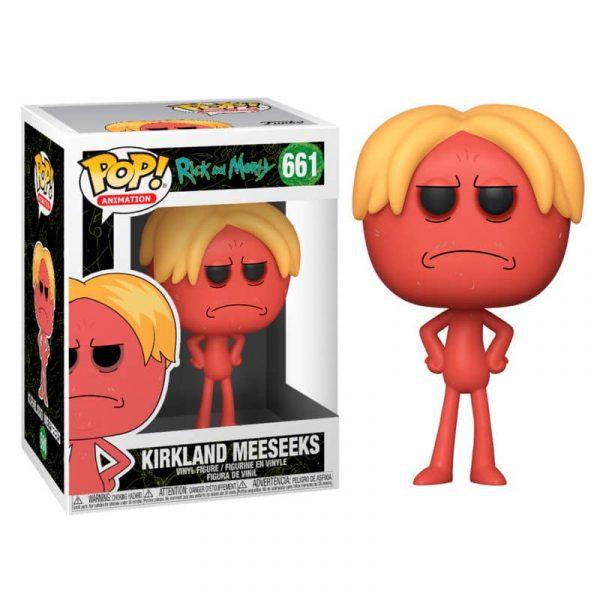 Figura POP Rick & Morty Kirkland Meeseeks