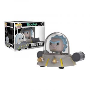 Funko Pop! Rick's Ship Exclusivo [Rick and Morty]