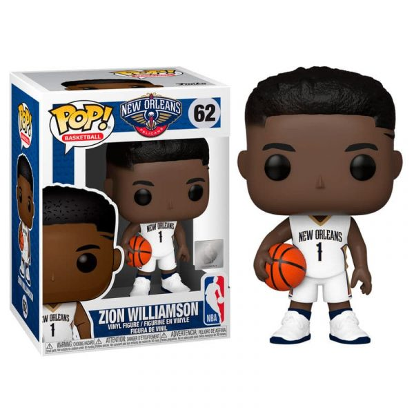 Figura POP NBA New Orleans Pelicans Zion Williamson