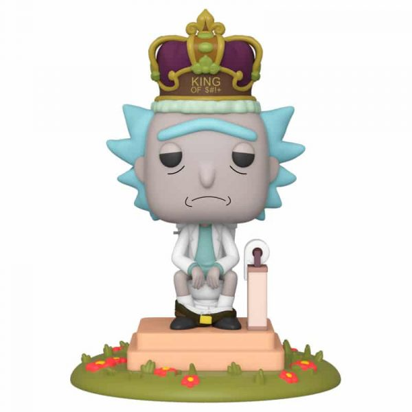 Figura POP Rick and Morty King with Sound