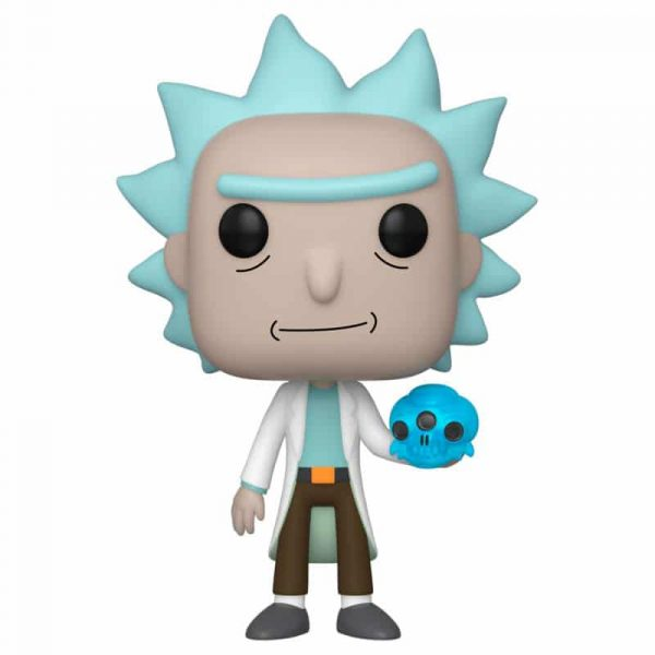 Figura POP Rick and Morty Rick with Crystal Skull