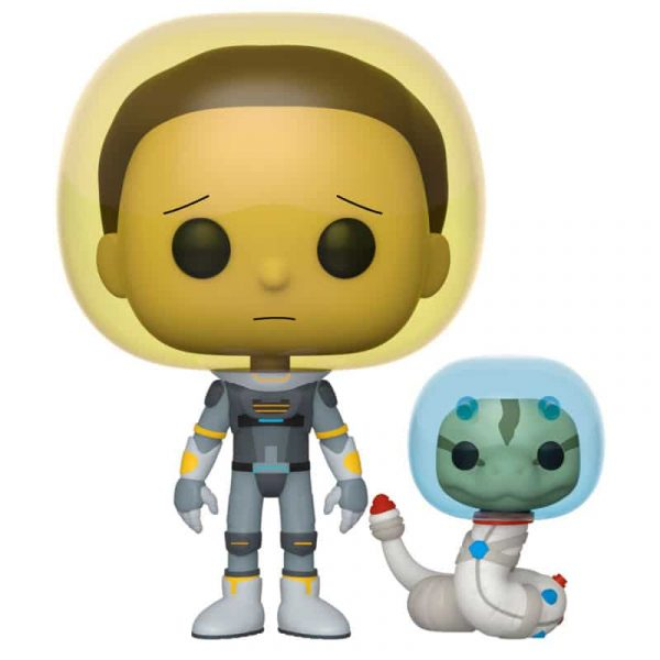 Figura POP Rick and Morty Space Suit Morty with Snake