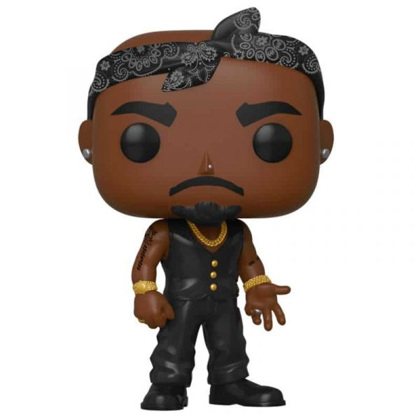 Figura POP Tupac Vest with Bandana