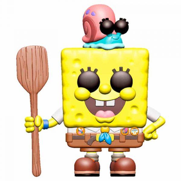 Figura POP Sponge Bob SpongeBob in Camping Gear