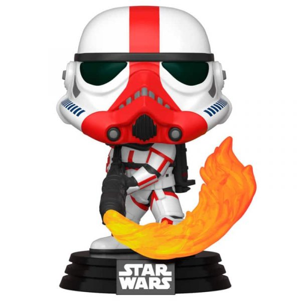 Figura POP Star Wars Mandalorian Incinerator Stormtrooper