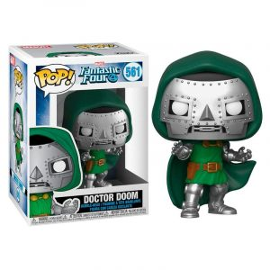 Funko Pop! Doctor Doom (Los 4 Fantásticos)