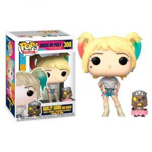 Funko Pop! Harley Quinn & Beaver [Birds of Prey]