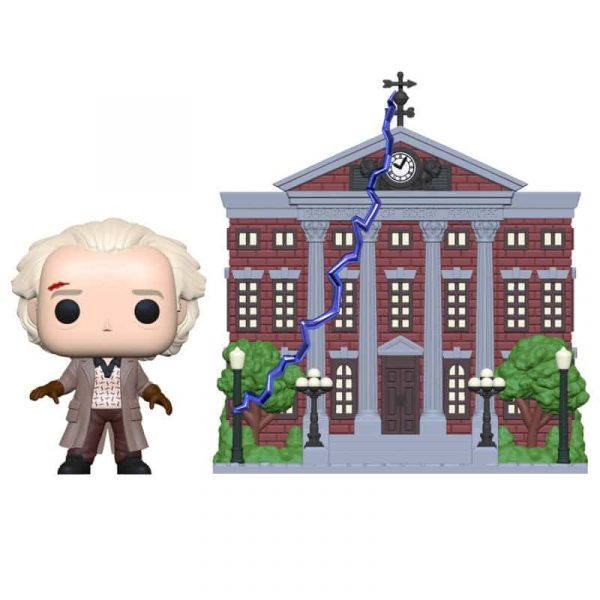 Figura POP Back To The Future Doc with Clock Tower