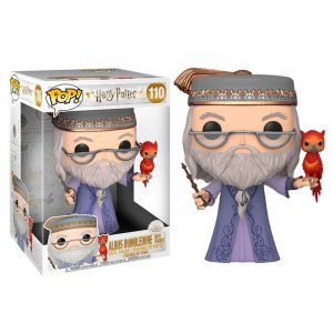 Funko Pop! Albus Dumbledore con Fawkes 10″ (25cm) (Harry Potter)