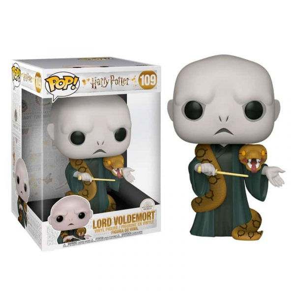 Figura POP Harry Potter Voldemort with Nagini 25cm