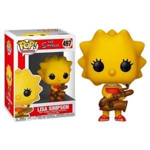 Funko Pop! Lisa Simpson (Los Simpsons)
