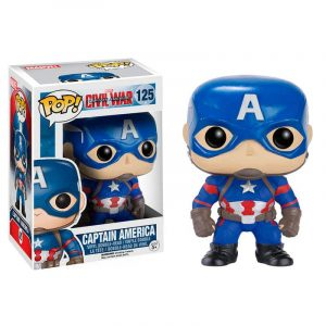 Funko Pop! Capitán América [Civil War]