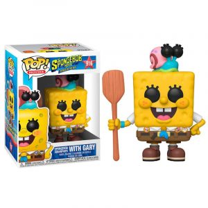 Funko Pop! Bob Esponja With Gary [Bob Esponja]