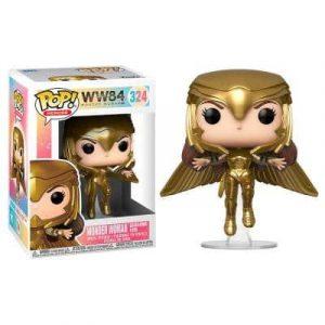 Funko Pop! Wonder Woman Gold Flying Pose [Wonder Woman]
