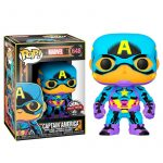 Funko Pop! Capitán América [Marvel Black Light]
