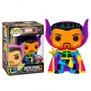 Funko Pop! Dr. Strange Exclusivo (Marvel Black Light)