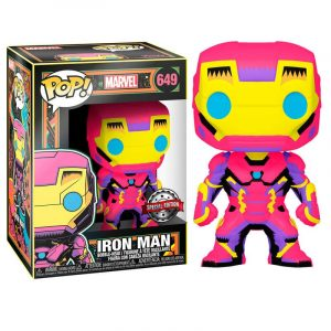 Funko Pop! Iron Man (Marvel Black Light)