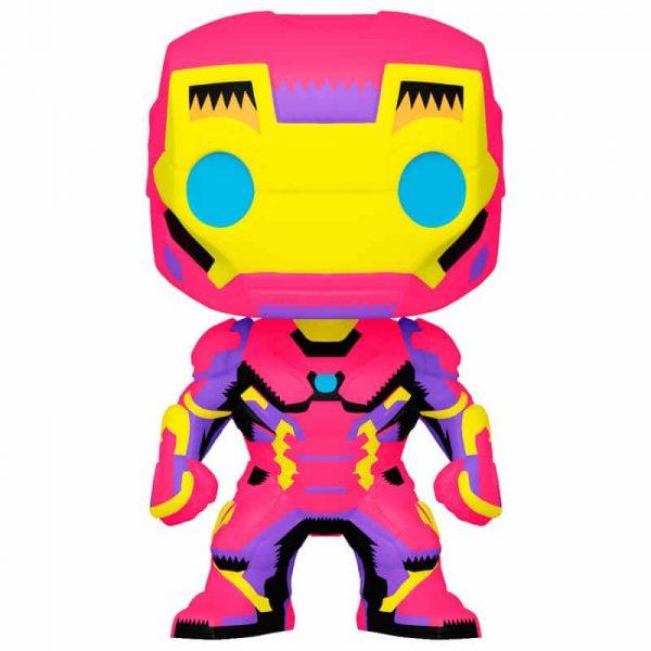 Figura POP Marvel Black Light Iron Man