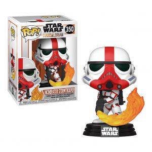Funko Pop! Incinerator Stormtrooper [Star Wars Mandalorian]