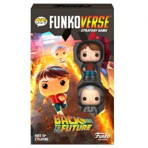 Juego de Mesa Funkoverse Regreso al Futuro 2 Figuras (Inglés)