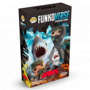 Juego de Mesa Funkoverse Tiburon 2 Figuras (Inglés)