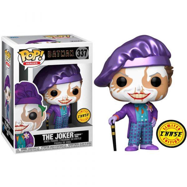 Figura POP DC Comics Batman 1989 Joker with Hat Chase