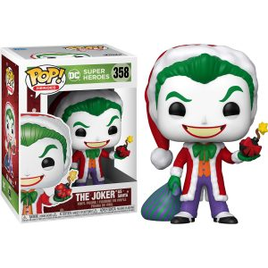 Funko Pop! The Joker as Santa [DC Comics Holiday]