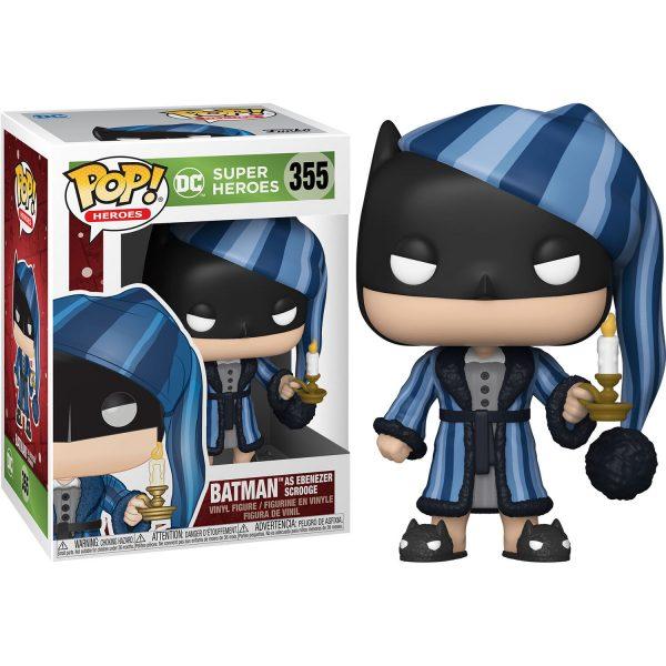 Figura POP DC Holiday Scrooge Batman