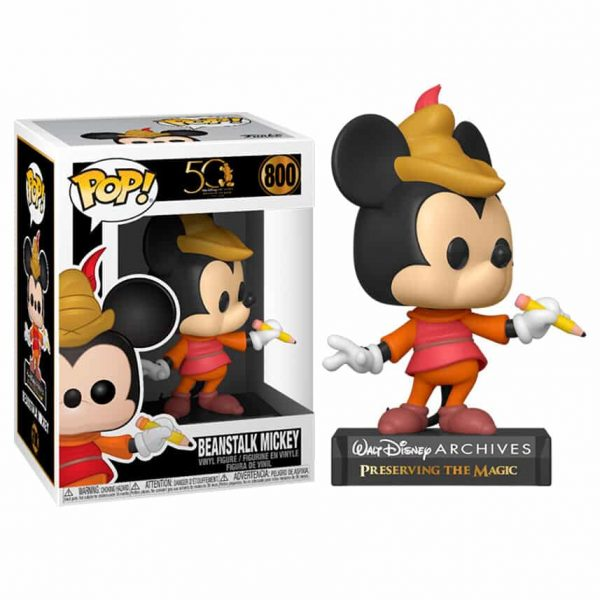 Figura POP Disney Archives Beanstalk Mickey