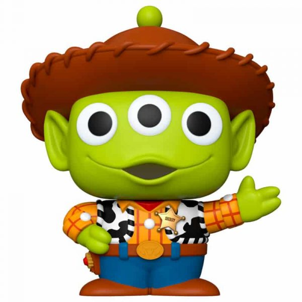 Figura POP Disney Pixar Alien Remix Woody 25cm