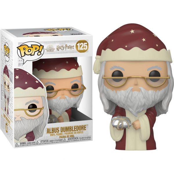 Figura POP Harry Potter Holiday Dumbledore