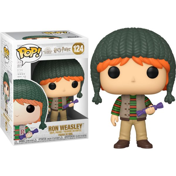 Figura POP Harry Potter Holiday Ron Weasley