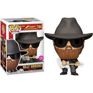 Funko Pop! Billy Gibbons Flocked [ZZ Top]