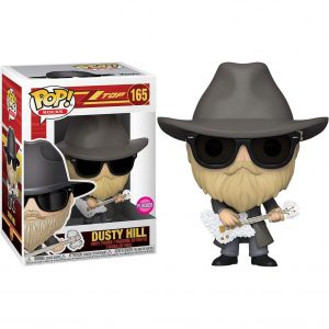 Funko Pop! Dusty Hill Flocked [ZZ Top]