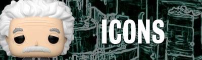 Catálogo Funko Pop Icons