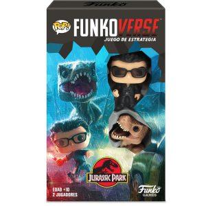 Juego de Mesa Funkoverse Jurassic Park (2 figuras) Español