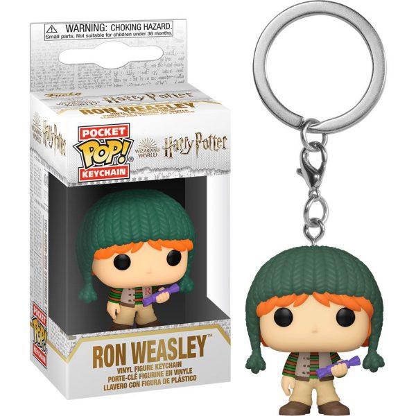 Llavero Pocket Harry Potter Holiday Ron
