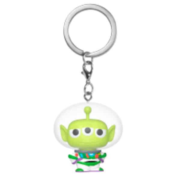 Llavero Pocket POP Disney Pixar Alien Remix Buzz
