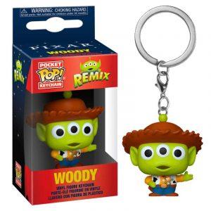 Llavero Pop! Woody (Alien Remix)