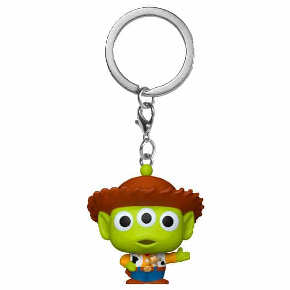 Llavero Pocket POP Disney Pixar Alien Remix Woody