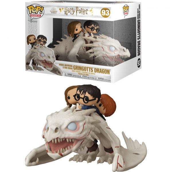 Figura POP Gringotts Dragon con Harry